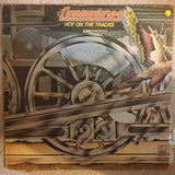 Commodores ‎– Hot On The Tracks - Vinyl LP Record - Opened  - Very-Good Quality (VG) - C-Plan Audio