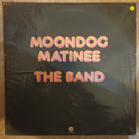 The Band ‎– Moondog Matinee - Vinyl LP Record - Opened  - Very-Good Quality (VG)