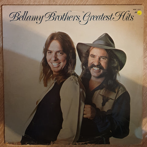 Bellamy Brothers ‎– Greatest Hits - Vinyl LP Record - Opened  - Very-Good Quality (VG)