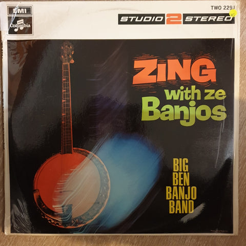 Big Ben Banjo Band ‎– Zing-Go The Banjos - Vinyl LP Record - Opened  - Very-Good Quality (VG)