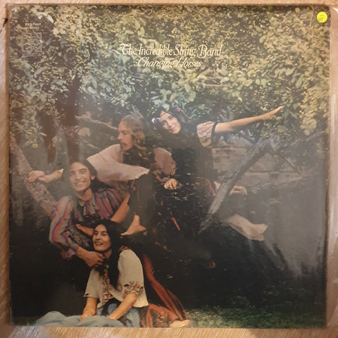 The Incredible String Band ‎– Changing Horses  ‎- Vinyl LP Record - Opened  - Very-Good- Quality (VG-)