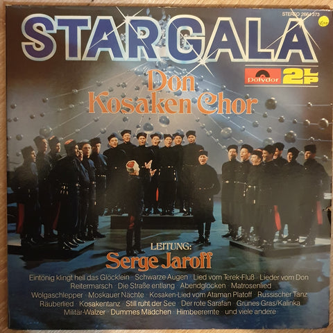 Don Kosaken Chor Serge Jaroff ‎– Stargala  -  Double Vinyl LP Record - Very-Good+ Quality (VG+)