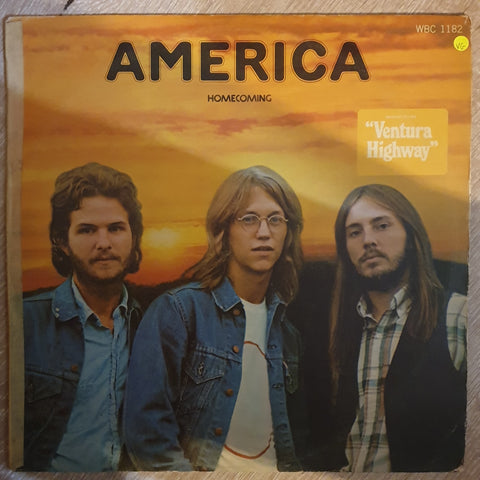 America – Homecoming - Vinyl LP Record - Opened  - Very-Good Quality (VG)