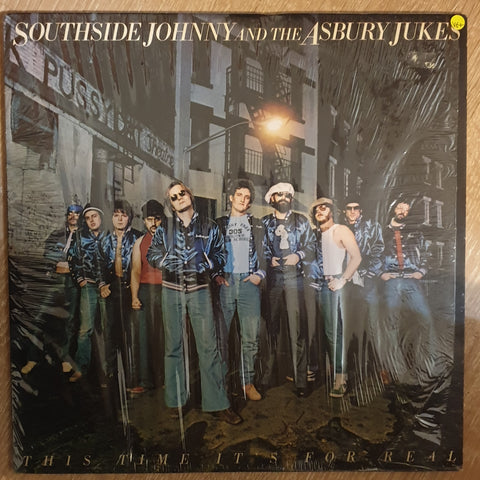 Southside Johnny And The Asbury Jukes ‎– This Time It's For Real - Vinyl LP Record - Very-Good+ Quality (VG+) - C-Plan Audio