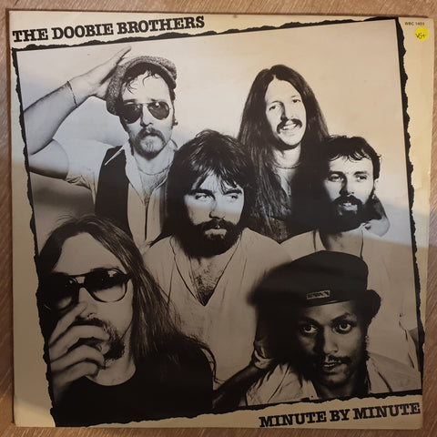 The Doobie Brothers ‎– Minute By Minute ‎– This Time It's For Real - Vinyl LP Record - Very-Good+ Quality (VG+)