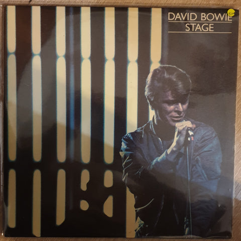 David Bowie ‎– Stage - Vinyl LP Record - Very-Good+ Quality (VG+) - C-Plan Audio