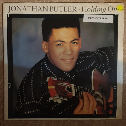 "Jonathan Butler ‎– Holding On / 7th Avenue South - 7"" Vinyl LP - Opened  - Very-Good+ Quality (VG+) - C-Plan Audio"