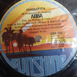 "Abba ‎– Chiquitita - Vinyl 7"" Record - Opened  - Very-Good- Quality (VG-) - C-Plan Audio"