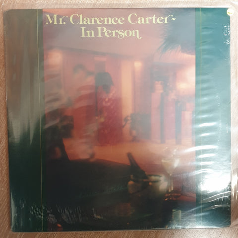 Clarence Carter (Mr) ‎– In Person - Vinyl LP Record - Sealed - C-Plan Audio