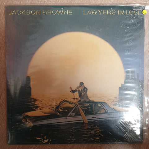 Jackson Browne - Lawyers In Love - Vinyl LP Record - Sealed