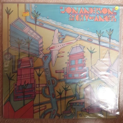 Jon Anderson ‎– In The City Of Angels - Vinyl LP Record - Sealed