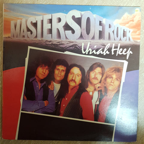 Uriah Heep - Masters Of Rock Series  - Vinyl Record - Very-Good+ Quality (VG+)