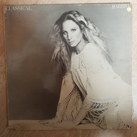 Barbra Streisand ‎– Classical  ‎- Vinyl LP Record - Opened  - Very-Good- Quality (VG-) - C-Plan Audio