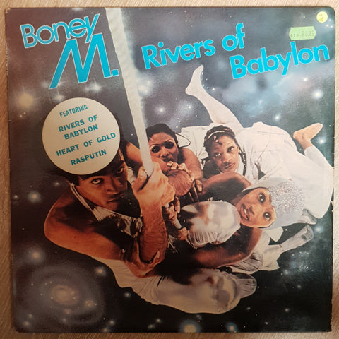 Boney M - Rivers Of Babylon  ‎- Vinyl LP Record - Opened  - Very-Good- Quality (VG-) - C-Plan Audio