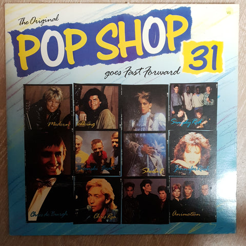 Pop Shop Vol 31 - Original Artists -  Vinyl LP Record - Opened  - Very-Good Quality (VG)