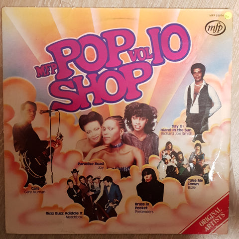 Pop Shop Vol 10 ‎- Vinyl LP Record - Opened  - Good+ Quality (G+)