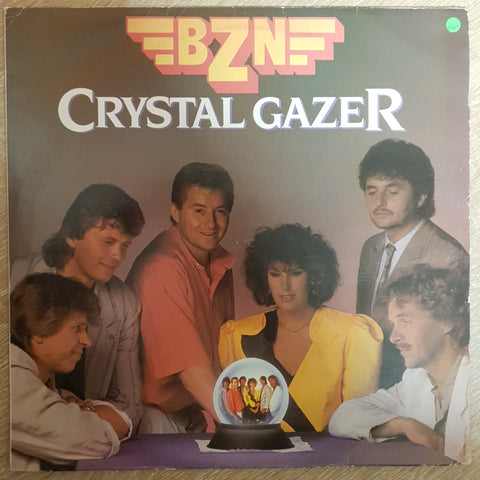 BZN - Crystal Gazer ‎- Vinyl LP Record - Opened  - Very-Good- Quality (VG-) - C-Plan Audio