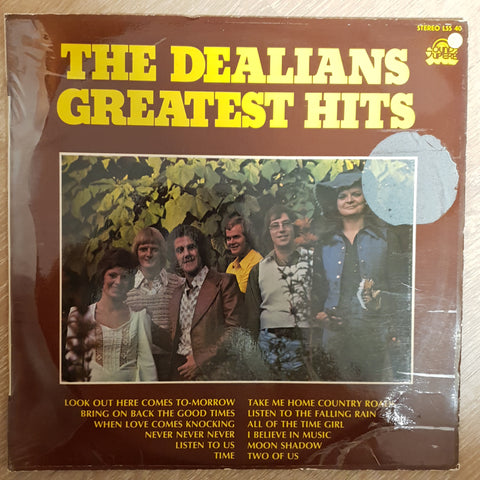 The Dealians Greatest Hits -  Vinyl LP Record - Opened  - Very-Good Quality (VG)