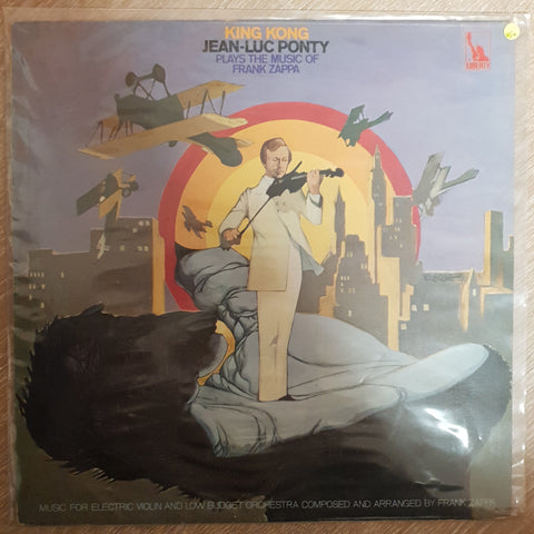 Jean-Luc Ponty ‎– King Kong (Jean-Luc Ponty Plays The Music Of Frank Zappa) - Vinyl Record - Very-Good+ Quality (VG+) - C-Plan Audio