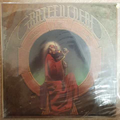 Grateful Dead ‎– Blues For Allah - Vinyl Record - Very-Good+ Quality (VG+)