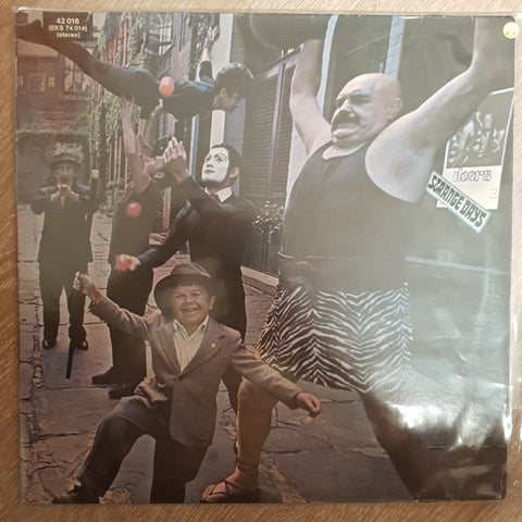 The Doors ‎– Strange Days (Germany) - Vinyl Record - Very-Good+ Quality (VG+)