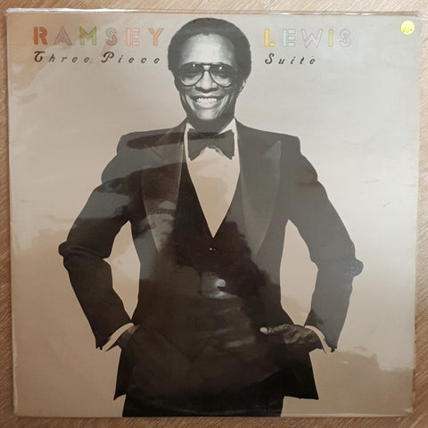 Ramsey Lewis ‎– Three Piece Suite - Vinyl LP Record - Opened  - Very-Good+ Quality (VG+) - C-Plan Audio