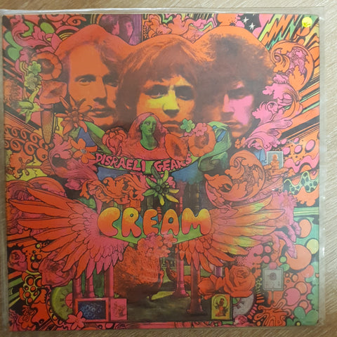 Cream – Disraeli Gears  - Vinyl LP - Opened  - Very-Good+ Quality (VG+)