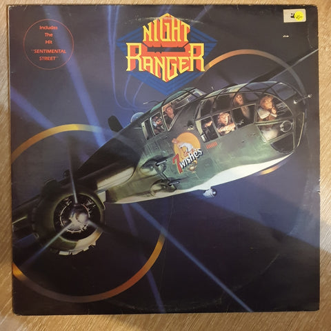 Night Ranger ‎– 7 Wishes - Vinyl LP Record - Opened  - Very-Good+ Quality (VG+) - C-Plan Audio