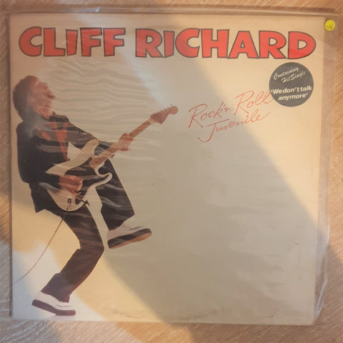 Cliff Richard ‎– Rock 'N' Roll Juvenile -  Vinyl LP Record - Opened  - Very-Good Quality (VG) - C-Plan Audio