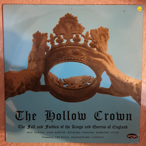 The Hollow Crown - Royal Shakespeare Company ‎–  (Record Two of Two) - Vinyl LP Record - Very-Good+ Quality (VG+)