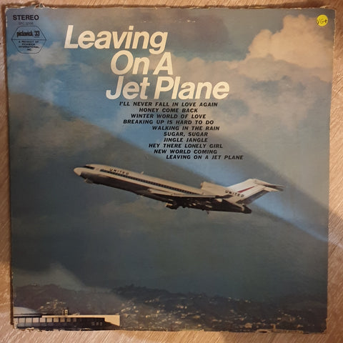 Jim Demitrack ‎– Leaving On A Jet Plane - Vinyl LP Record - Very-Good+ Quality (VG+)