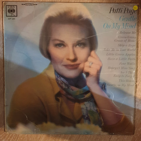 Patti Page ‎– Gentle On My Mind -  Vinyl LP Record - Opened  - Very-Good Quality (VG)