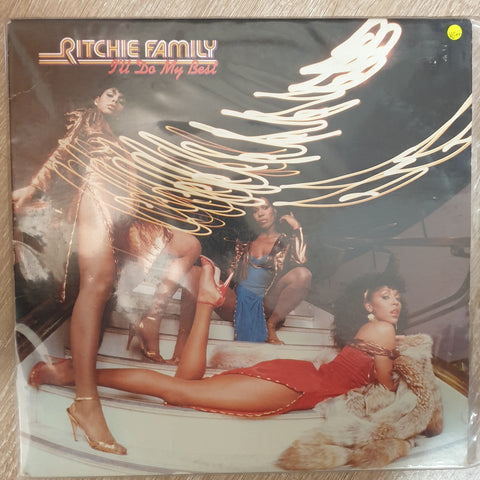 Ritchie Family ‎– I'll Do My Best - Vinyl LP Record - Very-Good+ Quality (VG+)