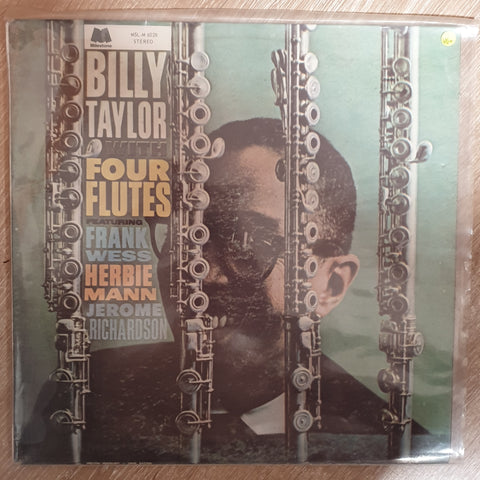 Billy Taylor ‎– Billy Taylor With Four Flutes - Vinyl LP Record - Very-Good+ Quality (VG+)
