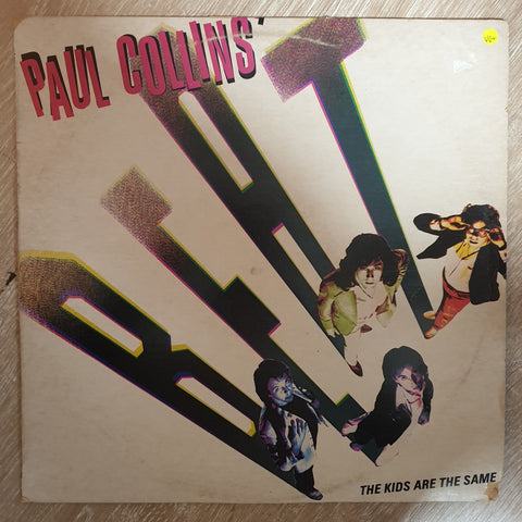Paul Collins' Beat ‎– The Kids Are The Same - Vinyl LP Record - Very-Good+ Quality (VG+)