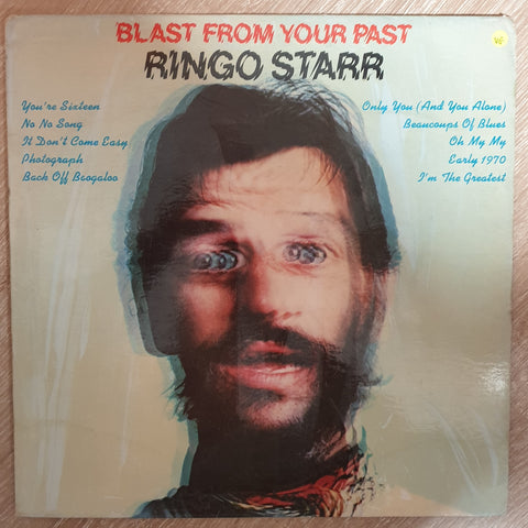 Ringo Starr ‎– Blast From Your Past -  Vinyl LP Record - Opened  - Very-Good Quality (VG)