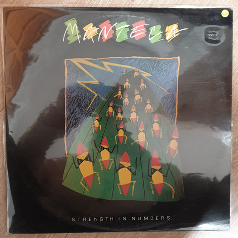 Manteca – Strength In Numbers - Vinyl LP Record - Very-Good+ Quality (VG+) - C-Plan Audio