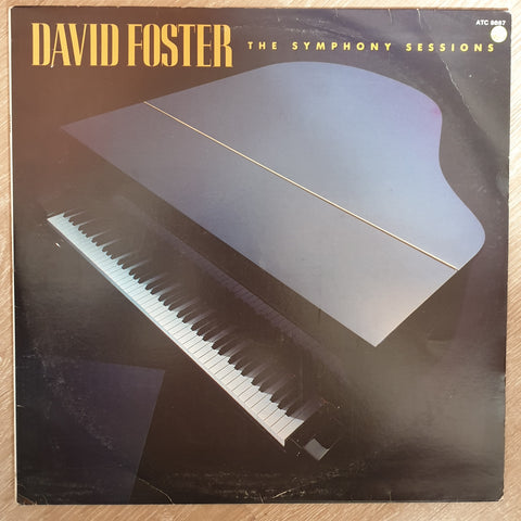 David Foster ‎– The Symphony Sessions -  Vinyl LP - Opened  - Very-Good+ Quality (VG+) - C-Plan Audio