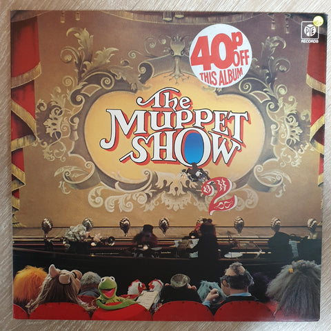 The Muppets ‎– The Muppet Show 2 -  Vinyl LP - Opened  - Very-Good+ Quality (VG+)