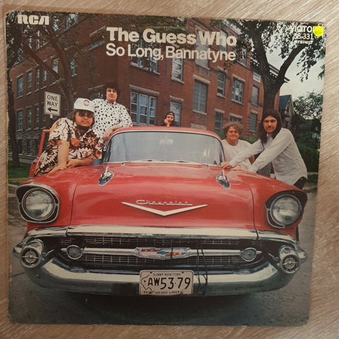 The Guess Who ‎– So Long, Bannatyne - Vinyl LP Record - Opened  - Very-Good+ Quality (VG+) - C-Plan Audio