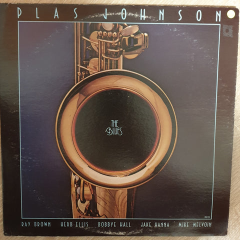 Plas Johnson ‎– The Blues - Vinyl LP Record - Opened  - Very-Good+ Quality (VG+) - C-Plan Audio