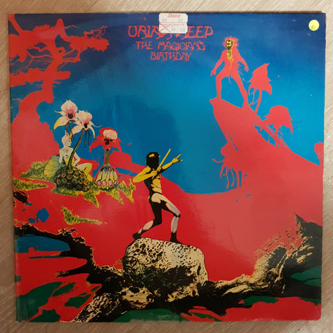 Uriah Heep ‎– The Magician's Birthday  - Vinyl LP Record - Opened  - Very-Good Quality (VG) - C-Plan Audio