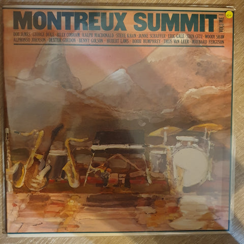 Montreux Summit Volume 1 - Double Vinyl Record - Opened  - Very-Good+ Quality (VG+) - C-Plan Audio