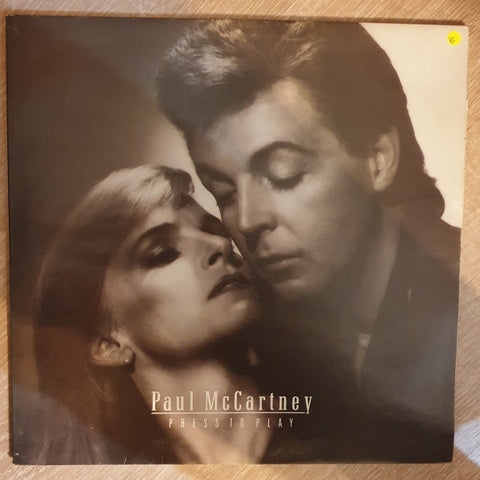 Paul McCartney ‎– Press To Play - Vinyl LP Record - Opened  - Very-Good Quality (VG) - C-Plan Audio