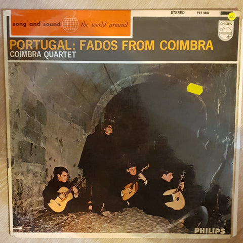 Coimbra Quartet ‎– Portugal: Fados From Coimbra - Vinyl Record - Opened  - Very-Good+ Quality (VG+) - C-Plan Audio