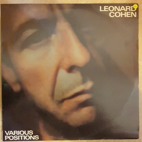 Leonard Cohen ‎– Various Positions - Vinyl LP Record - Opened  - Very-Good+ Quality (VG+) - C-Plan Audio