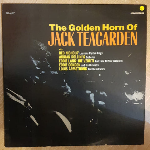 The Golden Horn Of Jack Teagarden -  With Red Nichols' Louisiana Rhythm Kings, Louis Armstrong... - Vinyl Record - Opened  - Very-Good+ Quality (VG+) - C-Plan Audio