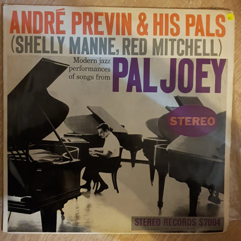 André Previn & His Pals ‎– Modern Jazz Performances Of Songs From Pal Joey -  Vinyl LP Record - Opened  - Very-Good Quality (VG) - C-Plan Audio