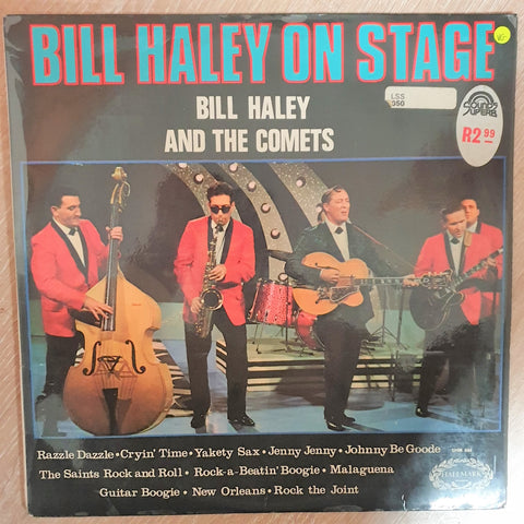 Bill Haley And The Comets ‎– Bill Haley On Stage -  Vinyl LP Record - Opened  - Very-Good+ Quality (VG+) - C-Plan Audio