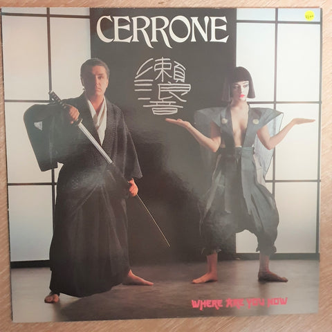 Cerrone ‎– Where Are You Now - Vinyl LP Record - Opened  - Very-Good+ Quality (VG+) - C-Plan Audio